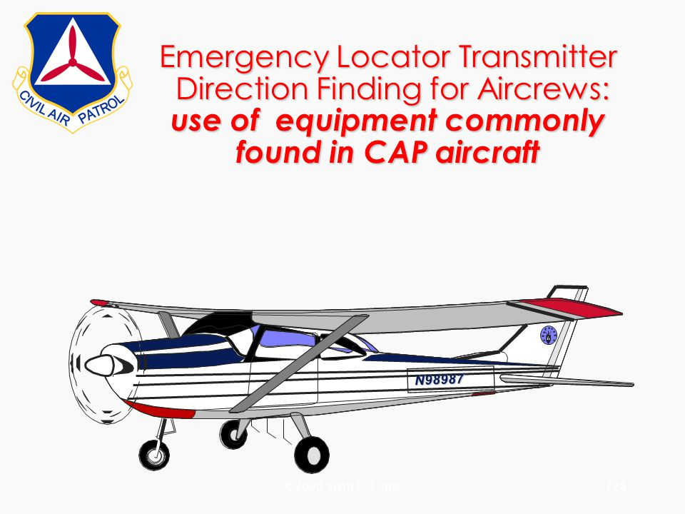 Emergency Locator Transmitter Direction Finding for Aircrews: use of equipment commonly found in CAP aircraft