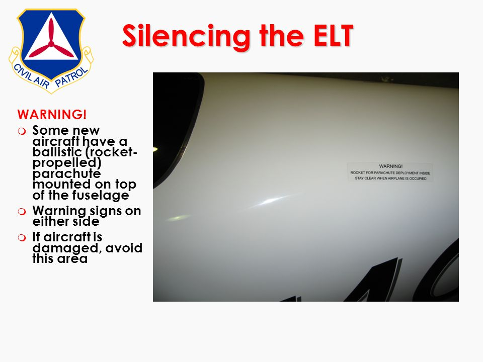 Silencing the ELT WARNING!