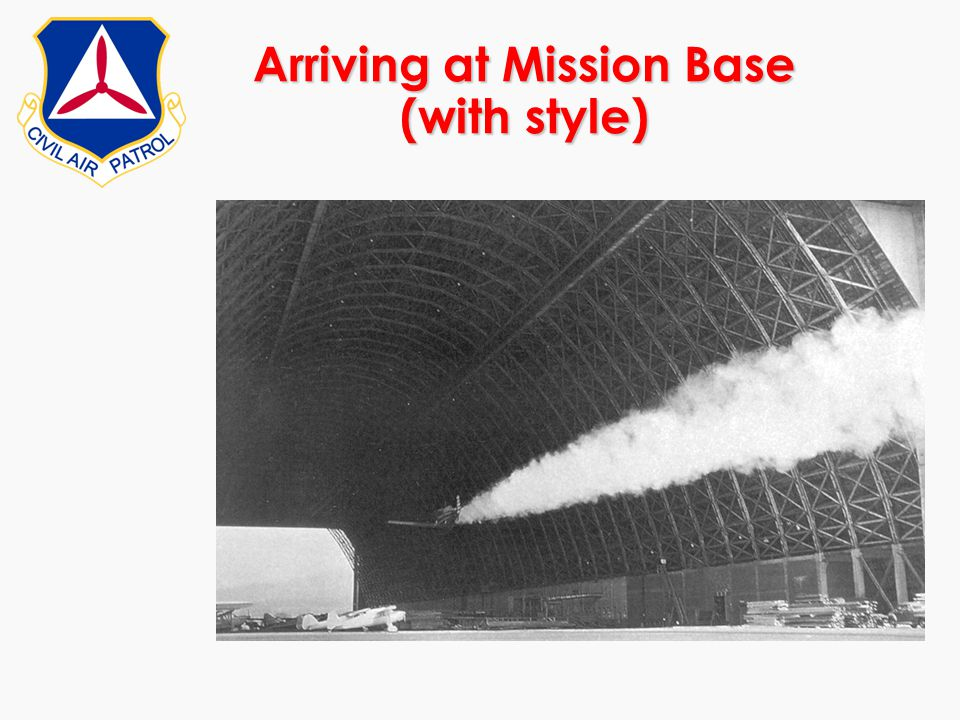 Arriving at Mission Base (with style)