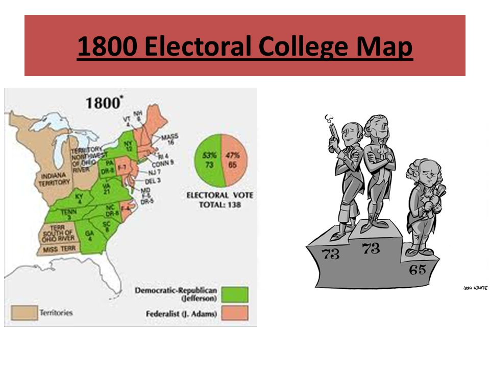 1800 Electoral College Map