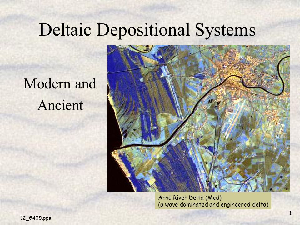 Deltaic Depositional Systems