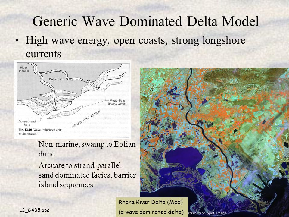Generic Wave Dominated Delta Model