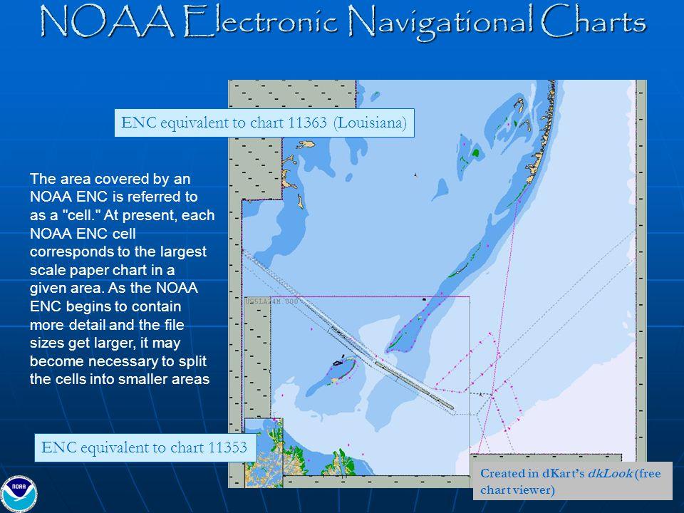 NOAA Electronic Navigational Charts