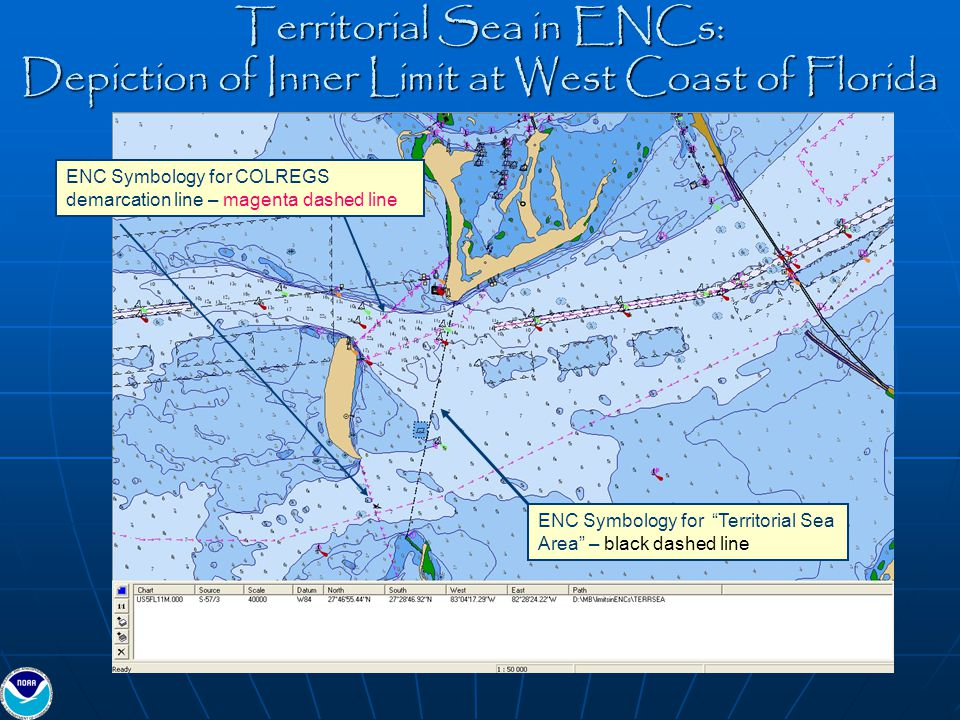 Territorial Sea in ENCs: