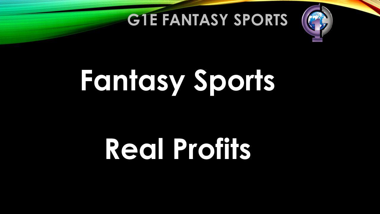 Fantasy Sports Real Profits