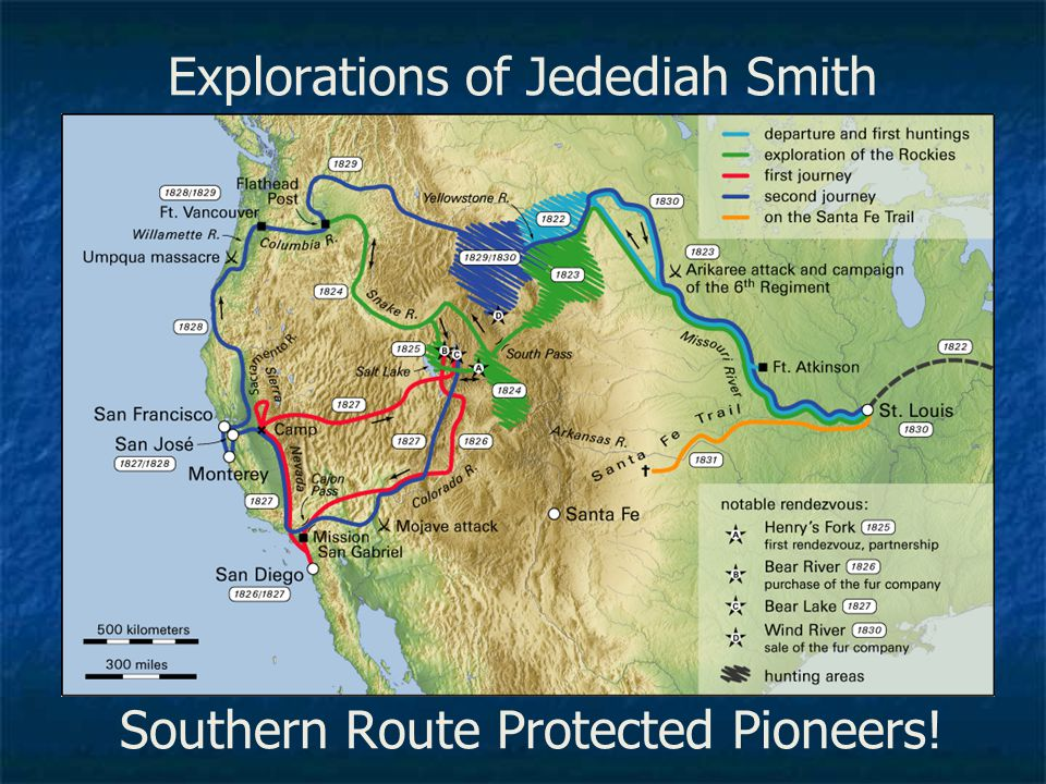 Explorations of Jedediah Smith
