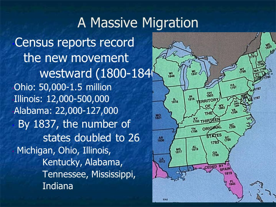 A Massive Migration Census reports record the new movement