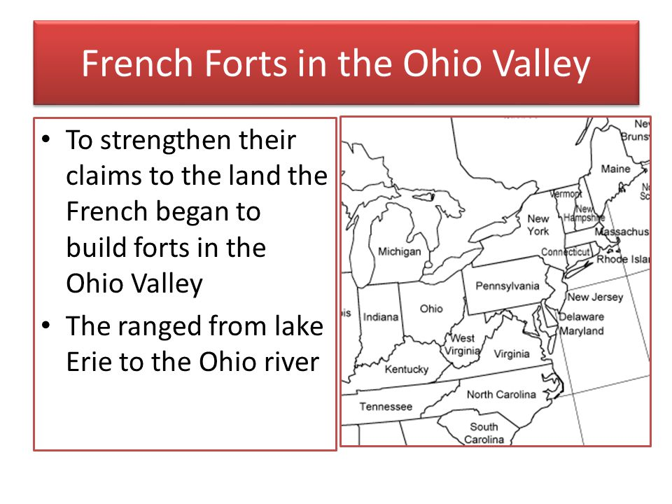 French Forts in the Ohio Valley