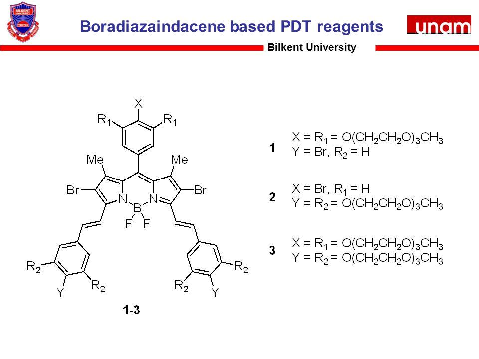 Boradiazaindacene based PDT reagents