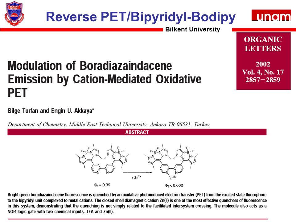 Reverse PET/Bipyridyl-Bodipy