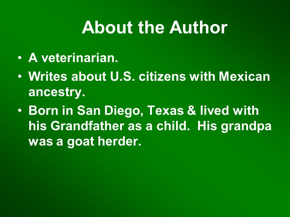 About the Author A veterinarian.