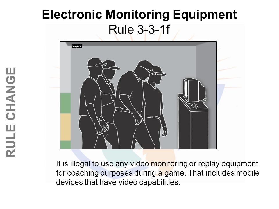 Electronic Monitoring Equipment Rule 3-3-1f