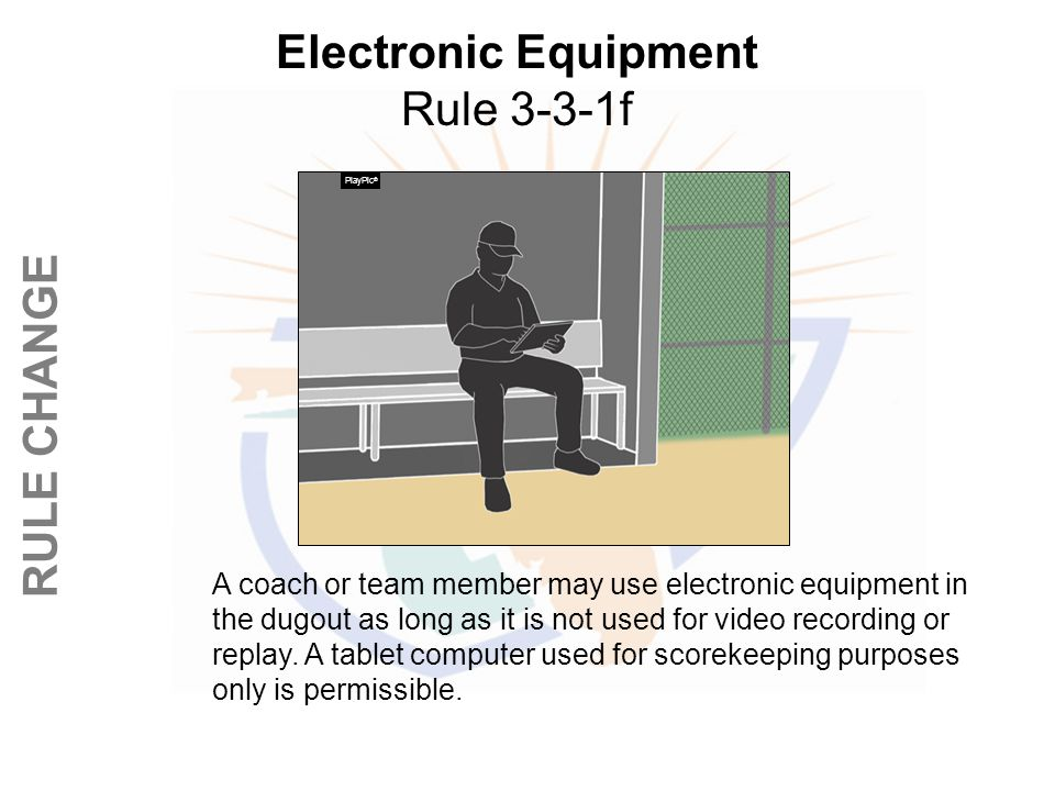 Electronic Equipment Rule 3-3-1f