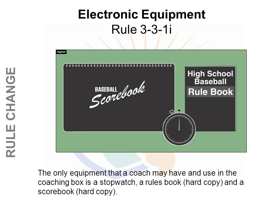 Electronic Equipment Rule 3-3-1i
