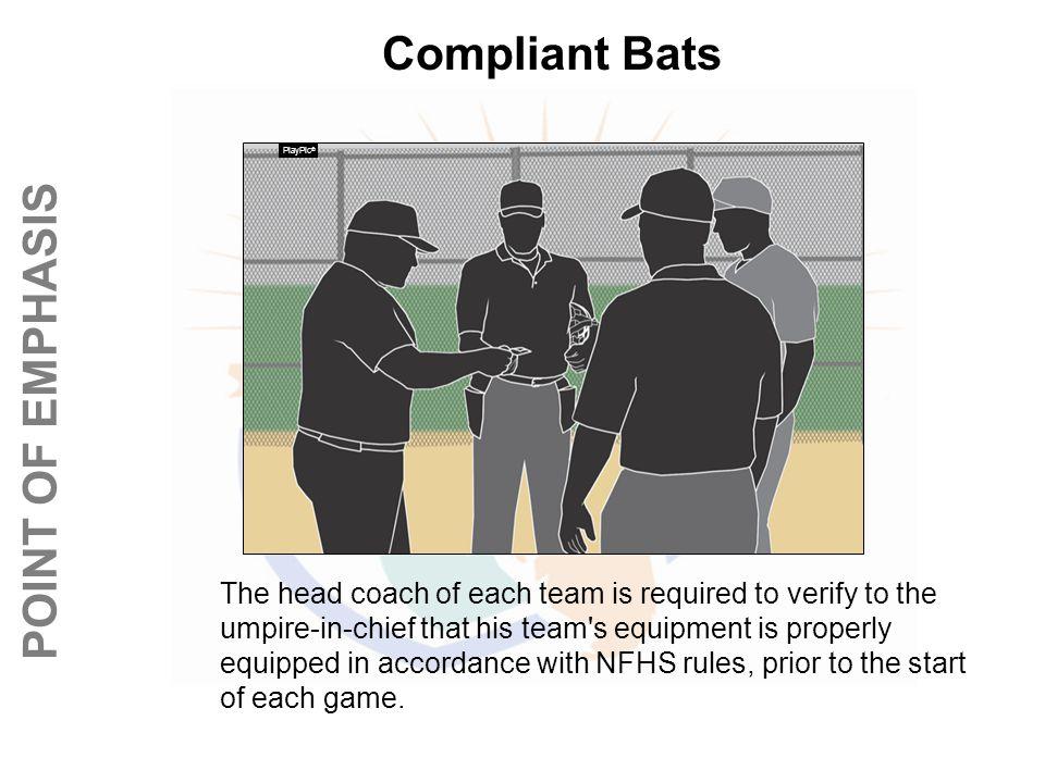 Compliant Bats PlayPic®