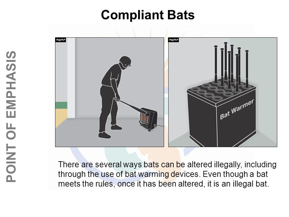 Compliant Bats PlayPic® PlayPic®