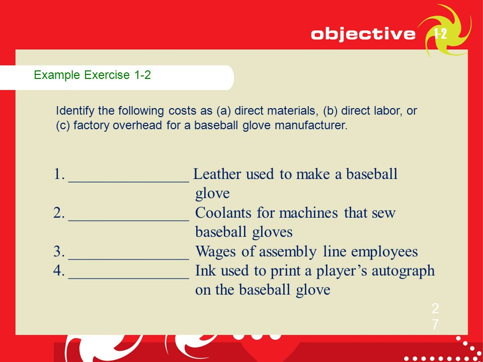 _______________ Leather used to make a baseball glove