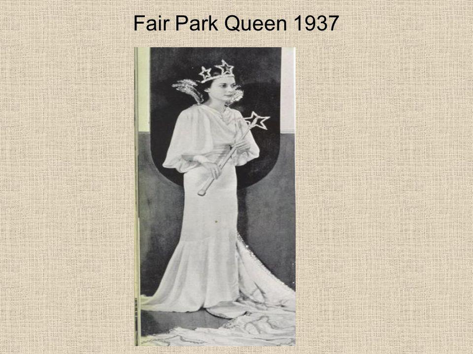 Fair Park Queen 1937