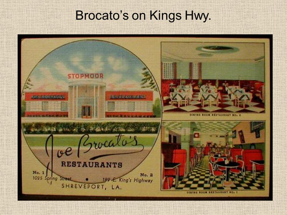 Brocato's on Kings Hwy.