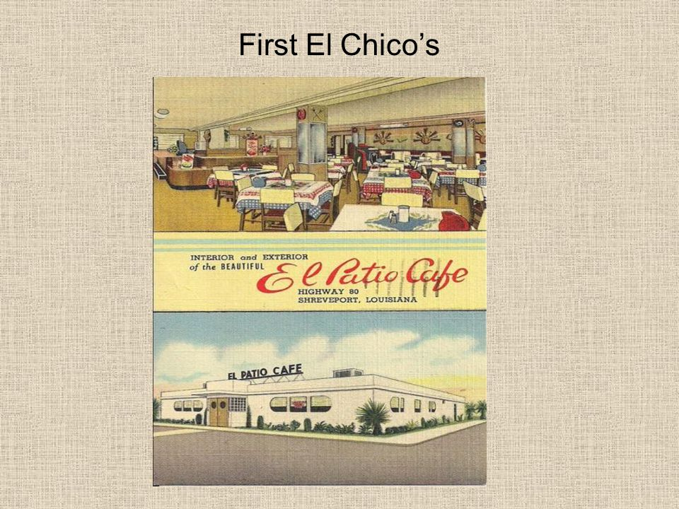 First El Chico's