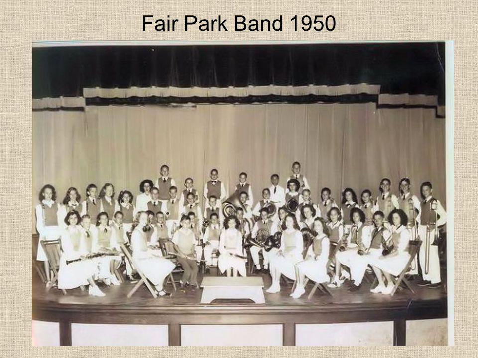 Fair Park Band 1950