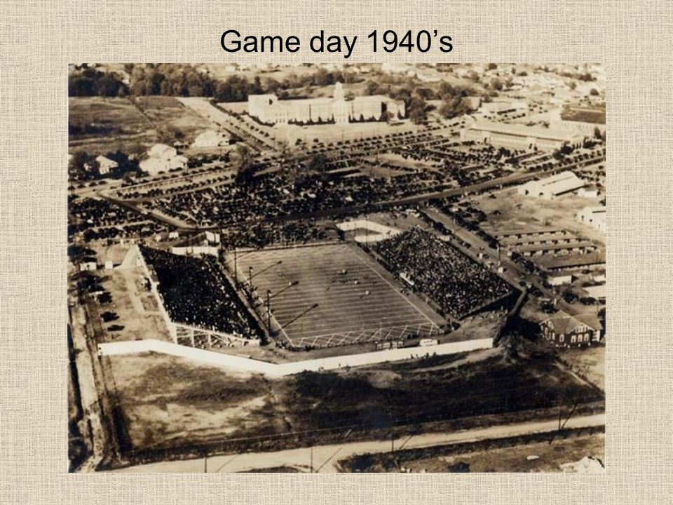 Game day 1940's