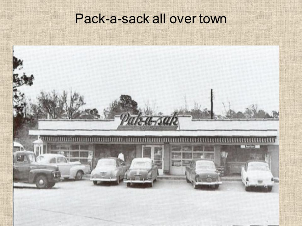 Pack-a-sack all over town