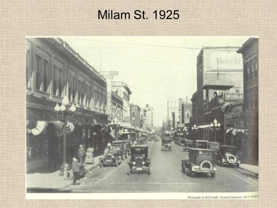 Milam St. 1925