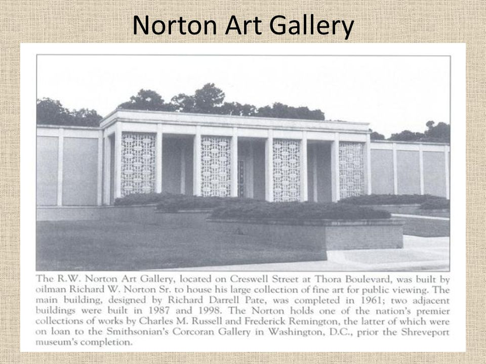 Norton Art Gallery