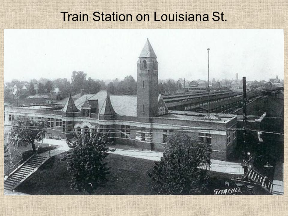 Train Station on Louisiana St.