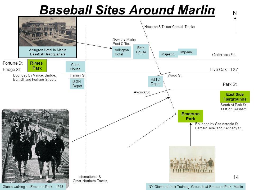 Baseball Sites Around Marlin