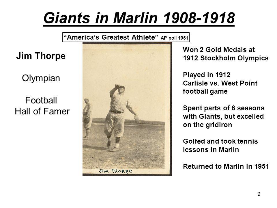 America's Greatest Athlete AP poll 1951