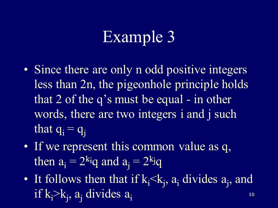 the pigeonhole principle forms Pigeonhole principle student redefine this as common sense behind this basic thought of this mathematical rule  if there are n objects to be positioned in m.