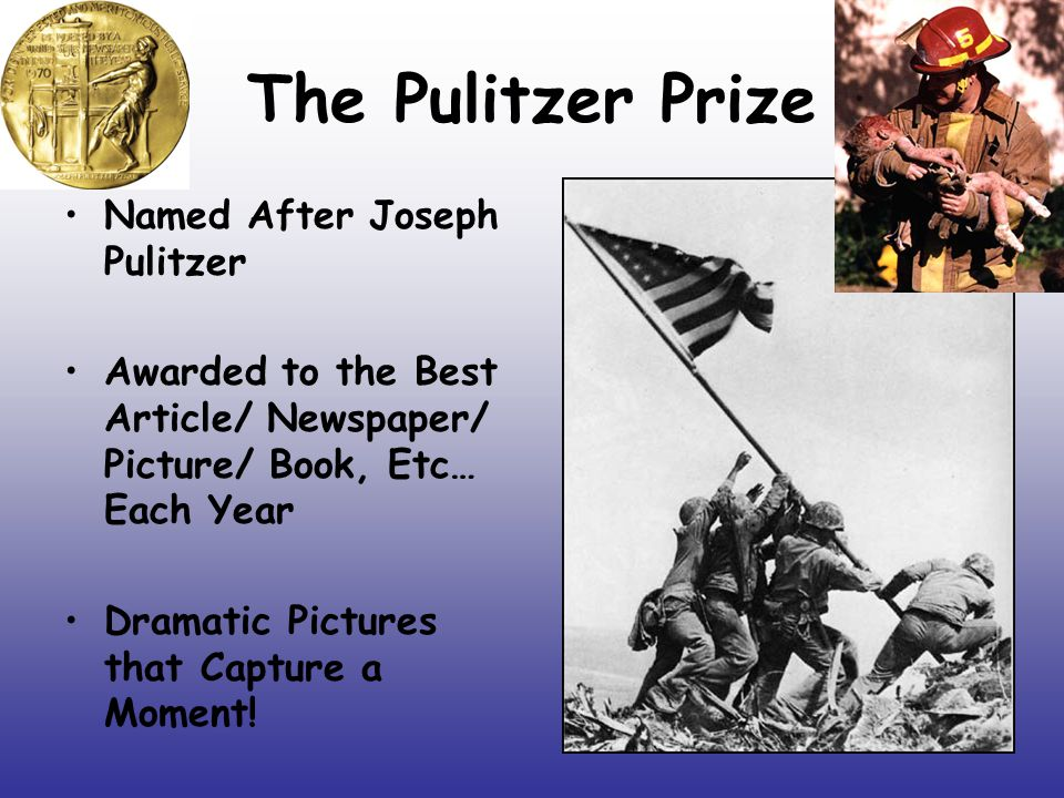The Pulitzer Prize Named After Joseph Pulitzer