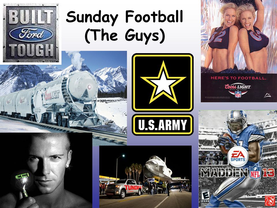 Sunday Football (The Guys)