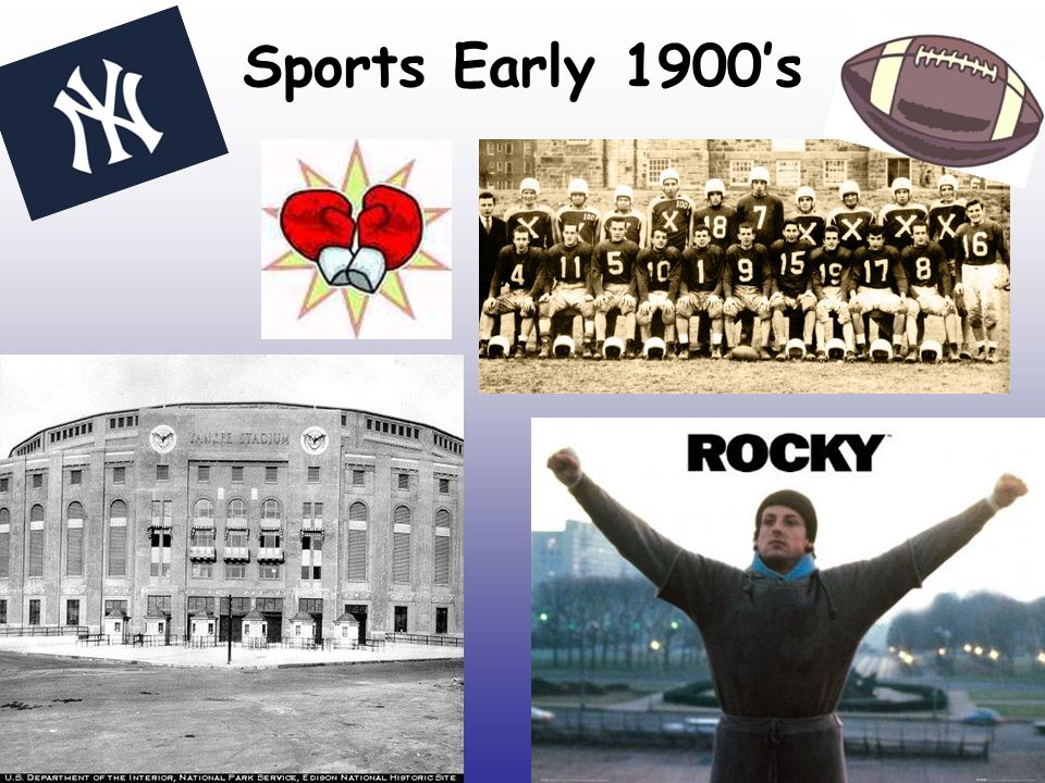 Sports Early 1900's