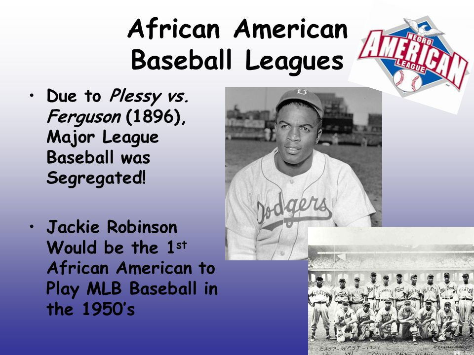 African American Baseball Leagues