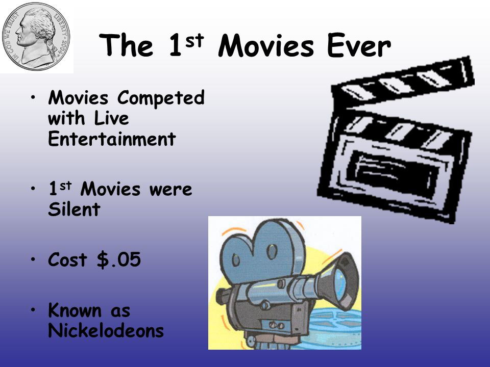 The 1st Movies Ever Movies Competed with Live Entertainment