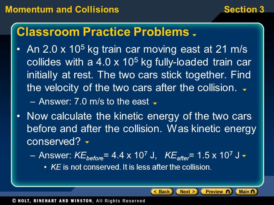 Classroom Practice Problems