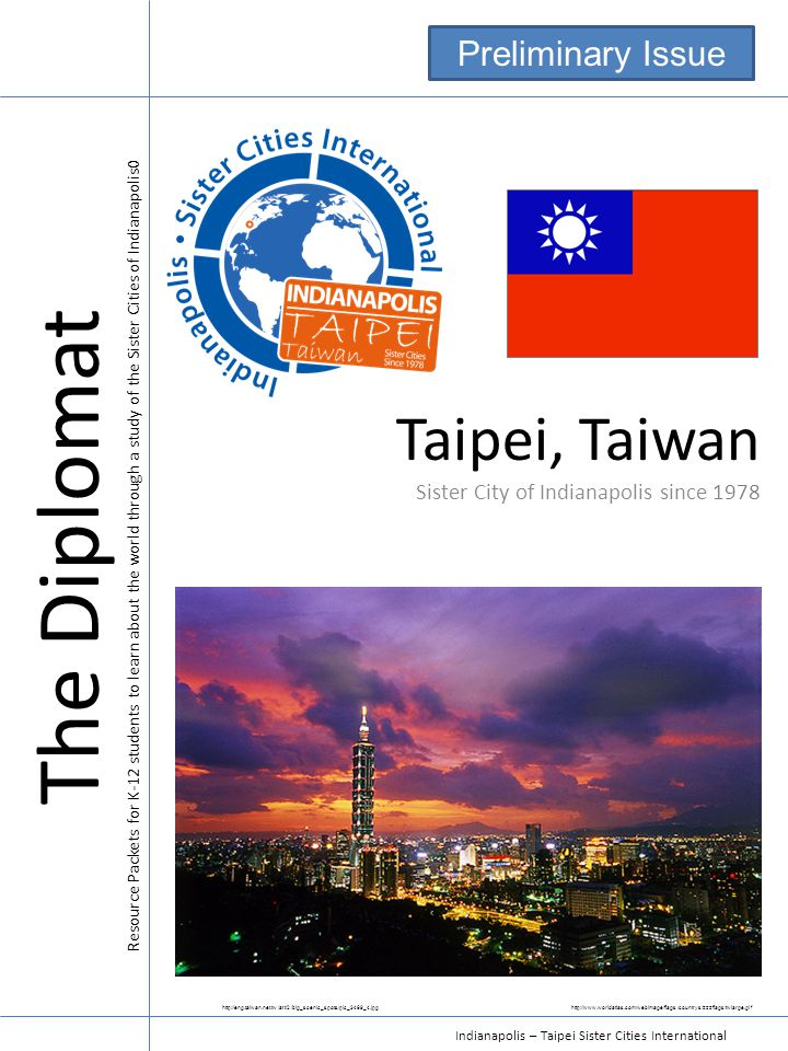 The Diplomat Taipei, Taiwan Preliminary Issue