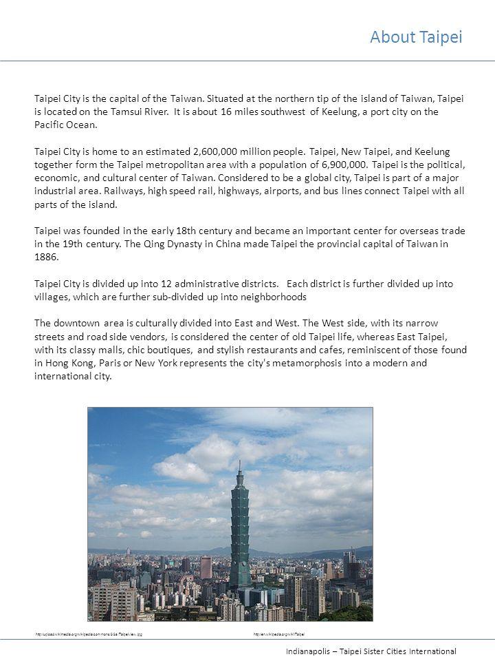 About Taipei
