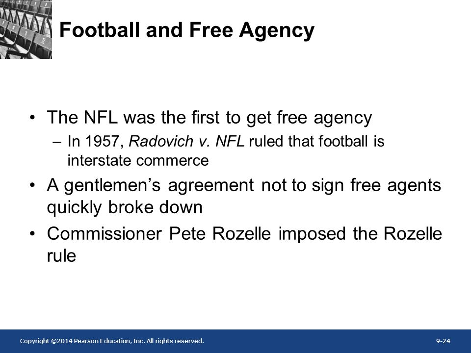 Football and Free Agency