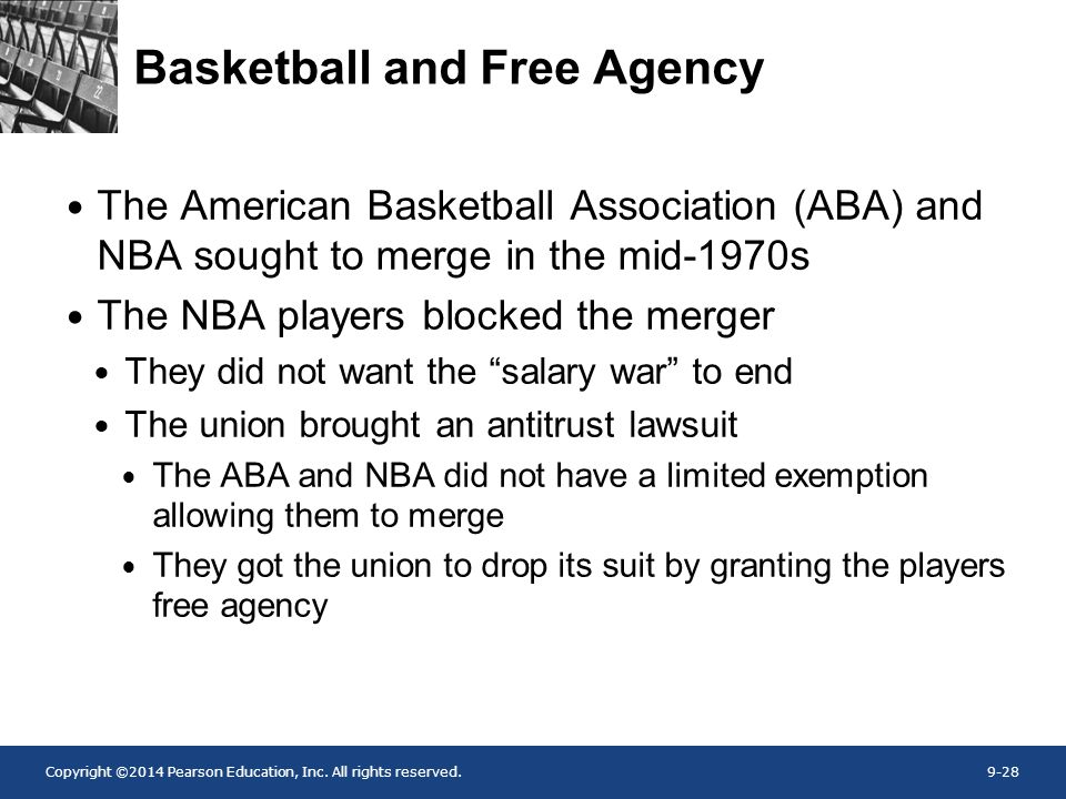 Basketball and Free Agency