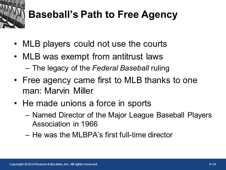 Baseball's Path to Free Agency