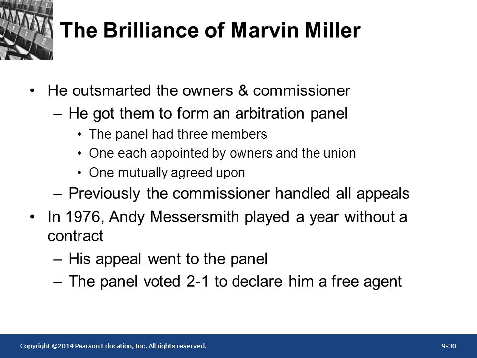 The Brilliance of Marvin Miller