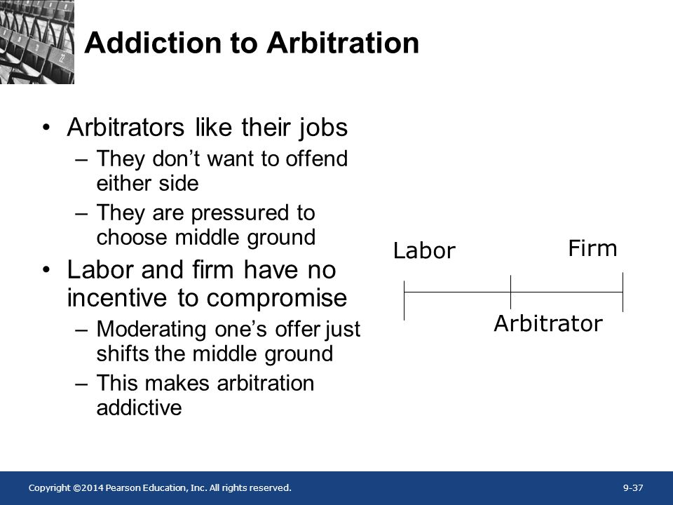 Addiction to Arbitration