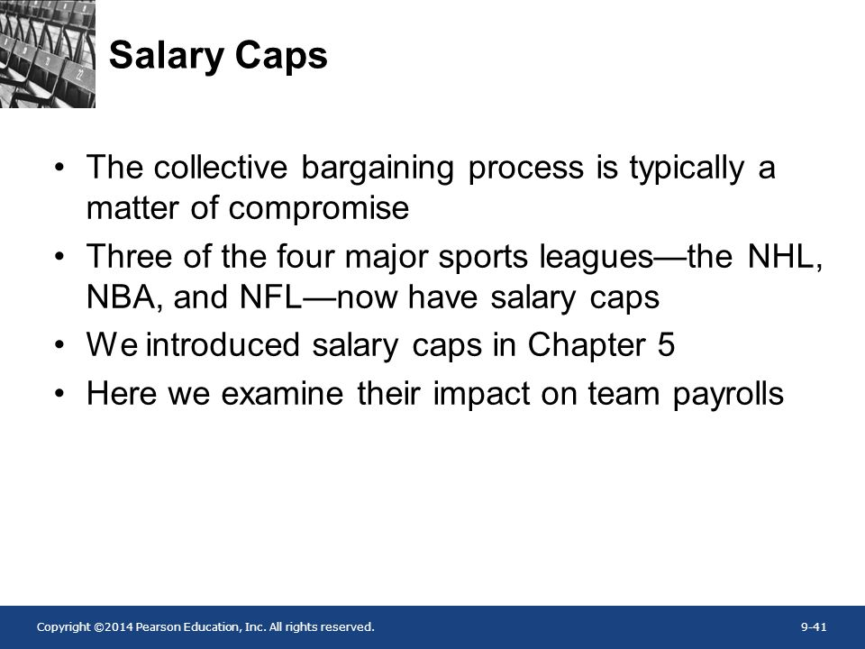 Salary Caps The collective bargaining process is typically a matter of compromise.