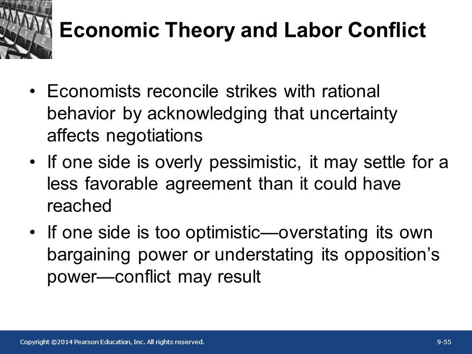 Economic Theory and Labor Conflict