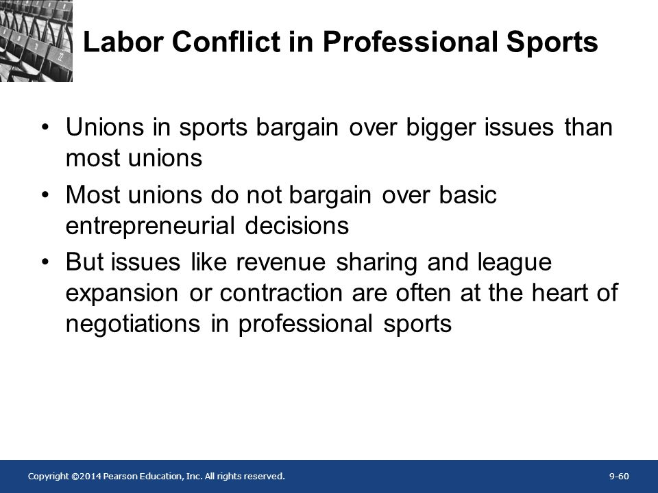 the sports business as a labor Five worst labor disputes in sports national hockey league labor problems between the players and the league sits in front of a downtown business in vancouver.