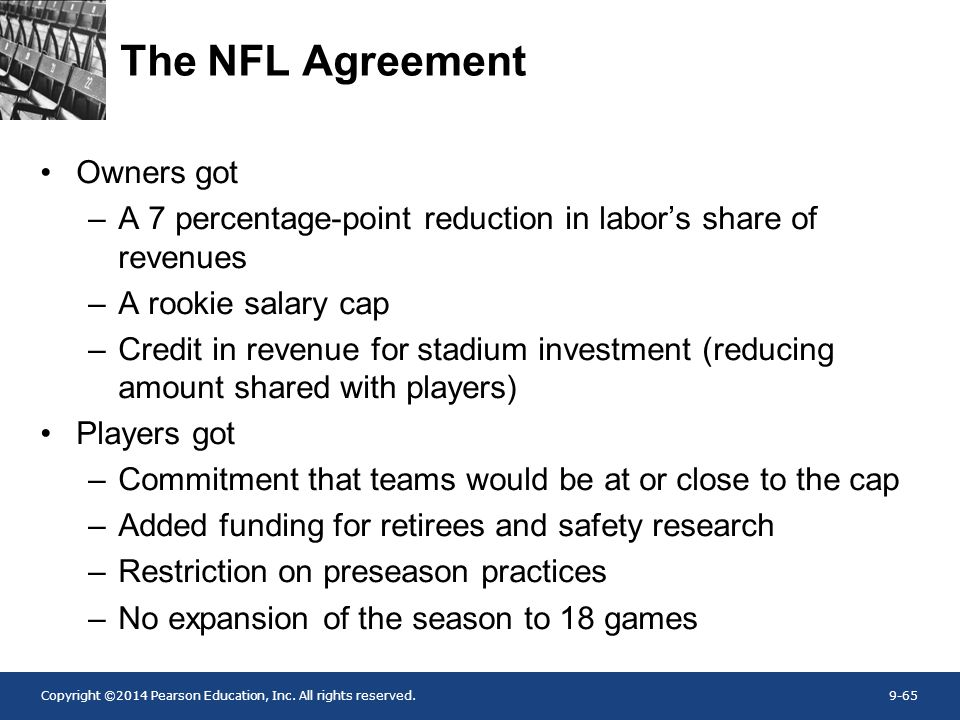 The NFL Agreement Owners got